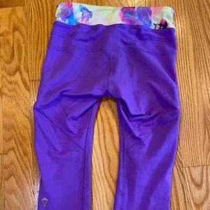 Ivivva Girls crop leggings